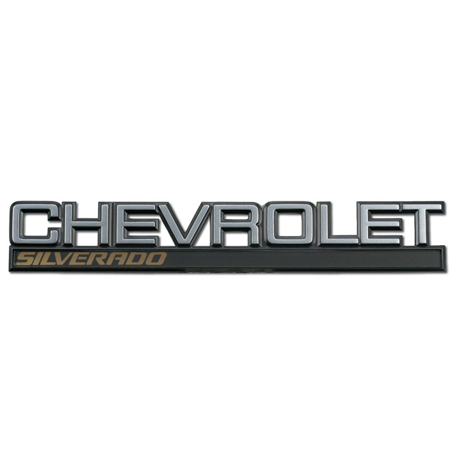 1998) Tailgate Emblem Chevrolet Silverado