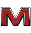 (1988-91)  Tailgate Emblem-GMC-M
