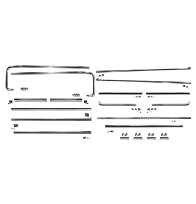 (1973-80)  Body Side Trim Kit-Shortbed