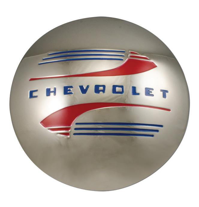 (1941-46)  Hubcap-Chevrolet-1/2 Ton