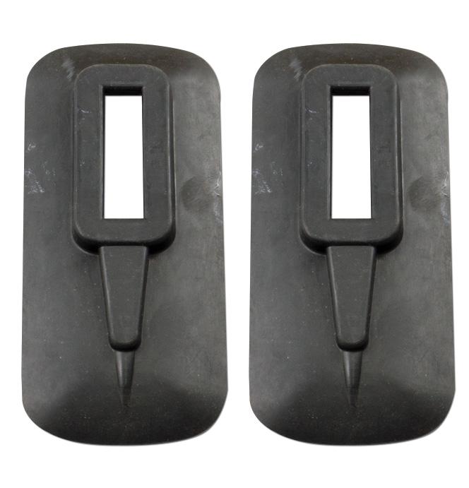 (1941-46)  Bumper Brace Covers - Front pr.