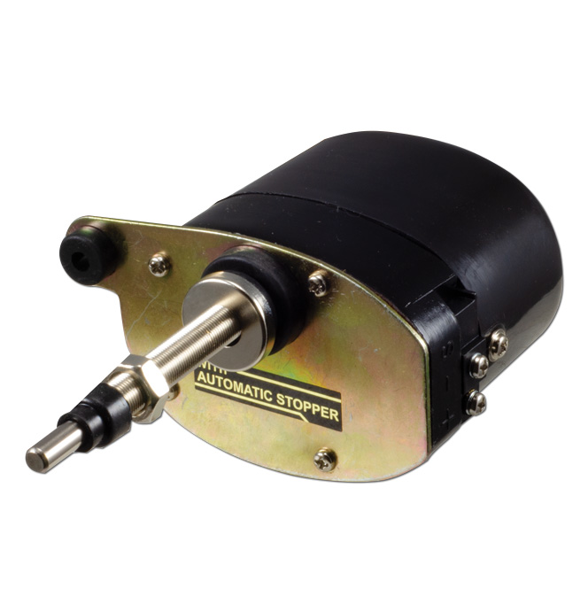 (1936-46)  Wiper Motor-Electric-12volt Black
