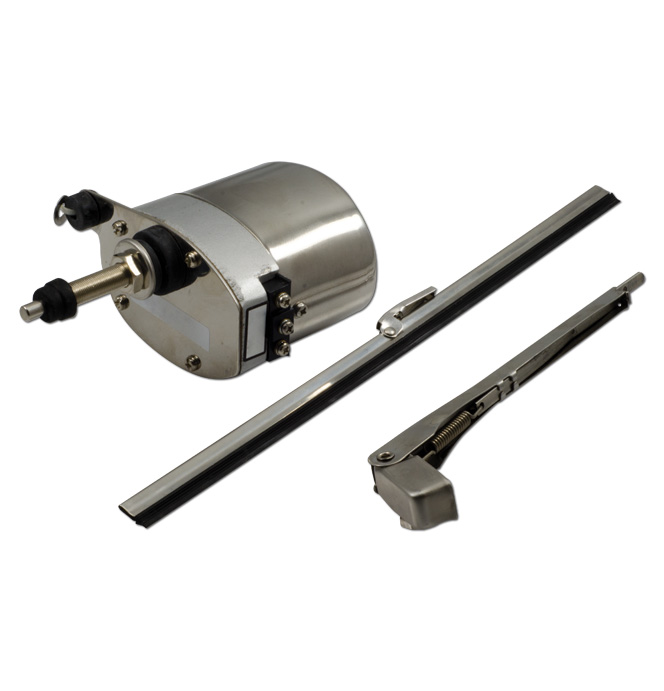 Wiper Motor-Electric Conversion Kit-6volt Chrome-Classic