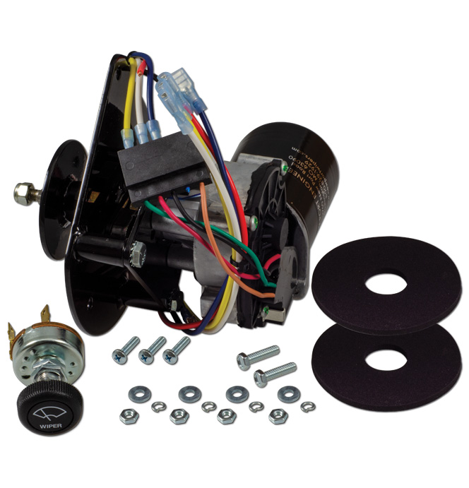 (1963-72)  Wiper Motor-Replacement Electric