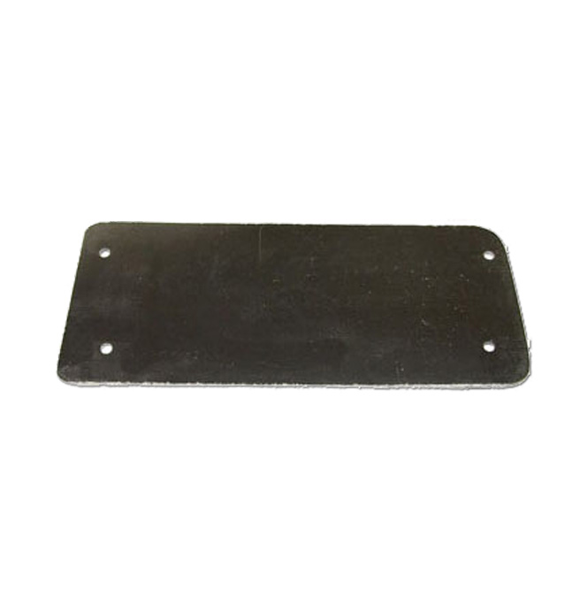 (1936-38)  Wiper Panel Cover, Blank