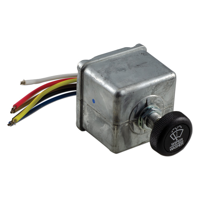 (1947-59)  Wiper Washer Switch For Intermittent Wiper