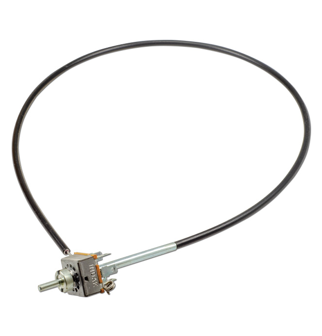 (1964-66)  Heater Switch-Std Cable Type