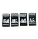 (1960-63)  Heater Knobs - Set of 4