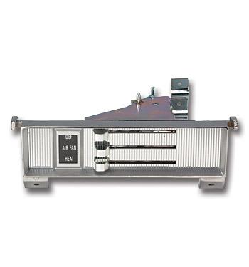 (1969-72)  Heater Control Assembly-w/o AC