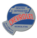 (1955-59)  Heater Mylar Decal