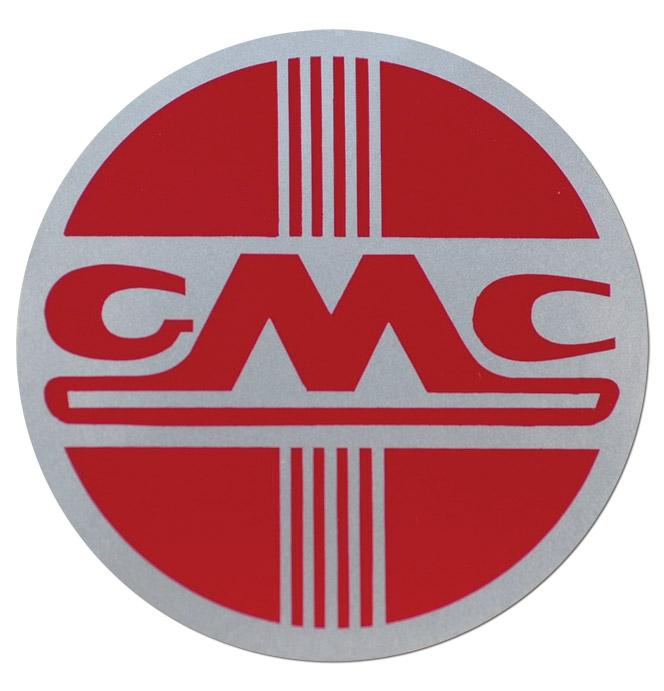 (1953-54)  Heater Mylar Decal - GMC
