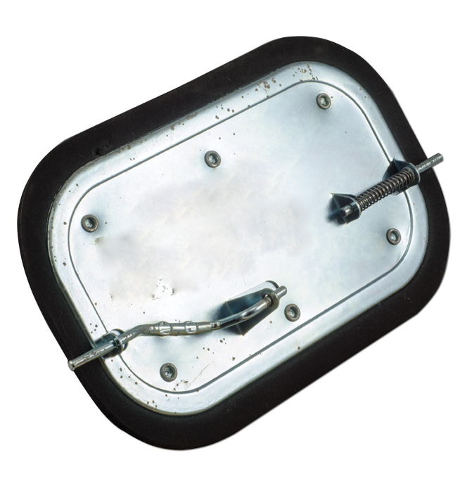 (1955-59)  Kick Panel Vent Door - Left