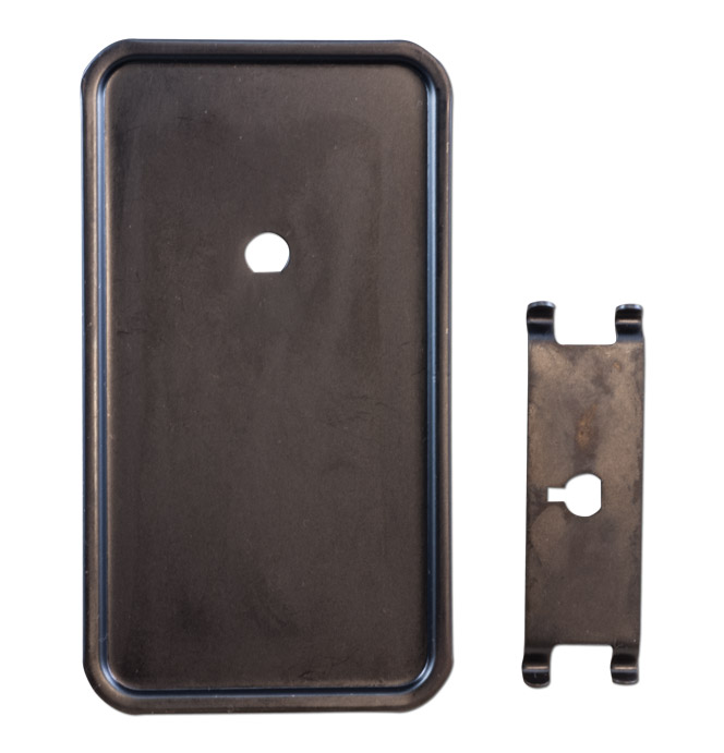 1964 66 Heater Control Cover Plate Cable Style Classic Chevy