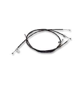(1964-66)  Deluxe Heater Cables-w/o A/C