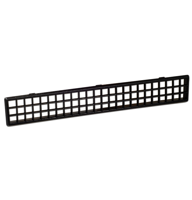 (1981-91)  Defroster Outlet Grill - Black