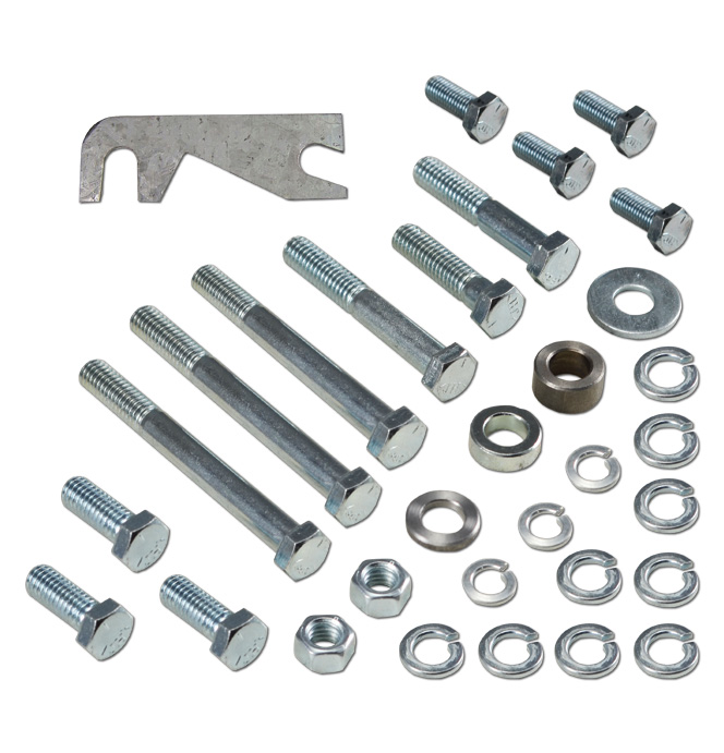 (1955-68) S/B A-6 Compressor Mounting Bracket Kit