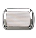 (1955-59)  Radio Speaker Cover-Chrome