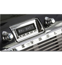 (1947-53) Retro Laguna Radio w/ Chrome Face/Dash Bezel