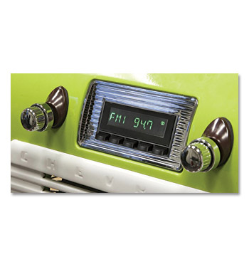 (1947-53) Retro Radio Hermosa - Chrome Bezel