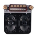 (1947-53) Original Style Repro AM/FM Radio w/Speaker - Chevrolet