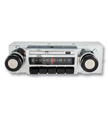 (1967-72) Original Style Repro AM/FM Radio - Chevrolet