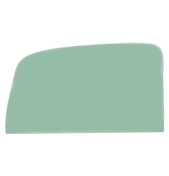 (1936-38)  * Door Glass - Green Tint Low Roof