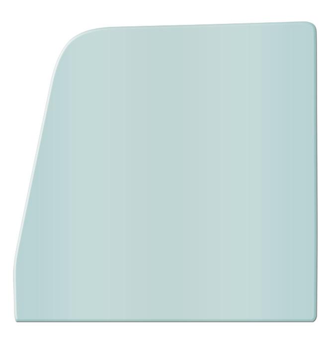 (1955-59)  * Door Glass - Green Tint