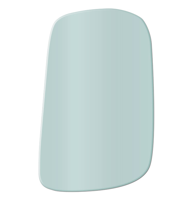 (1947-54)  * Corner Glass - Green Tint - Left