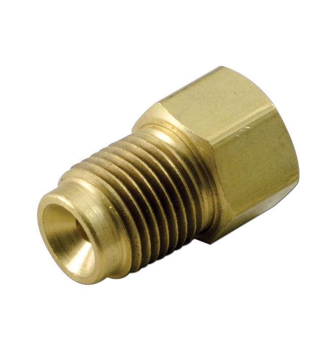 (1936-91)  Brake Line Nut Adapter 3/16