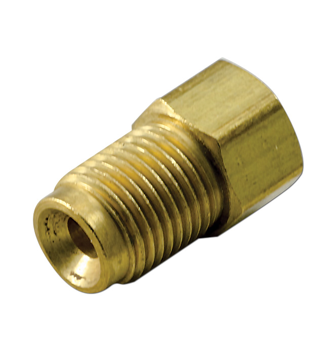 (1936-91)  Brake Line Nut Adapter 1/4