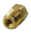 (1936-91)  Brake Line Nut Adapter 1/4