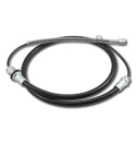 (1973-83)  Parking Brake Cable-Rear 2&4 WD-1/2Ton
