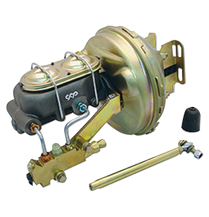 (1963-66) *Power Brake Booster Conversion-Disc/Disc
