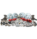 (1967-70) Complete Big Brake Kit - Front/Rear