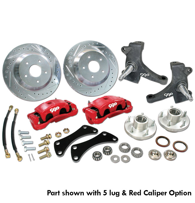 (1963-70) Big Brake Wheel Kit - Front