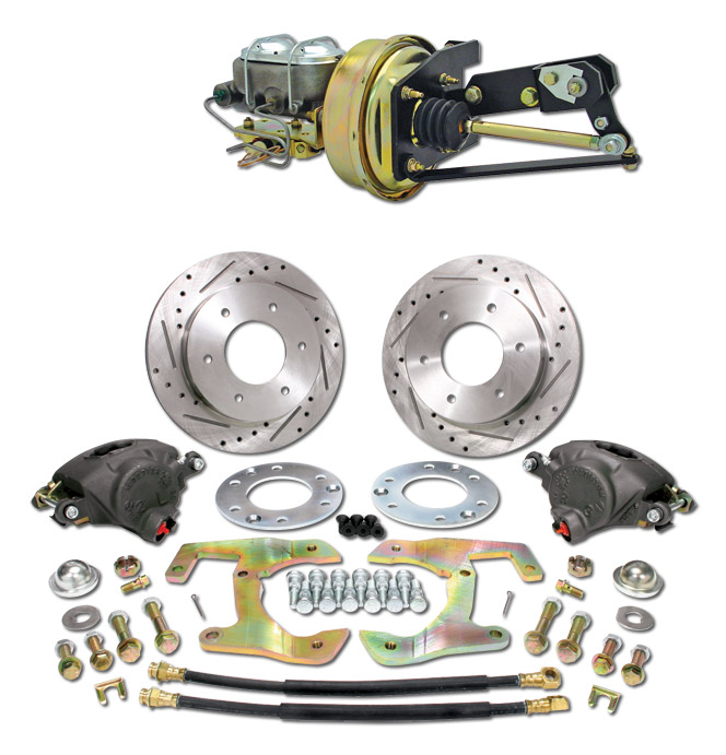 (1955-59) *Disc Brake Conversion Kit-6 Lug Complete