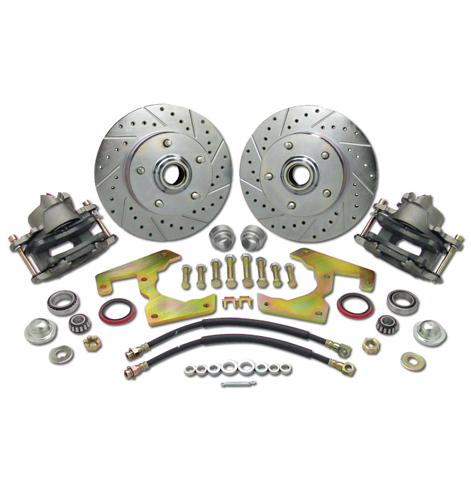 (1947-59) *Disc Brake Conversion Kit-5 Lug Wheel w/ Plain Rotors
