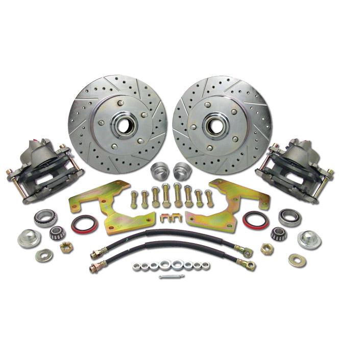(1947-59) *Disc Brake Conversion Kit-5 Lug Wheel w/ Plain Rotors