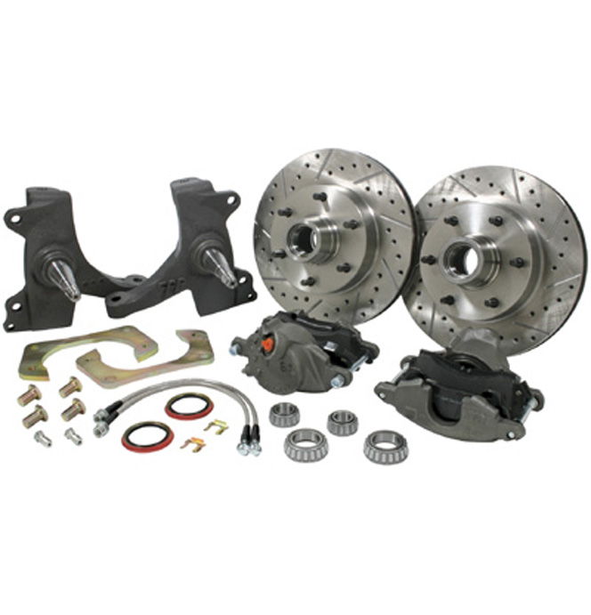 (1960-62) * Drop Spindle Disc Brake Conversion Kit - 5 lug