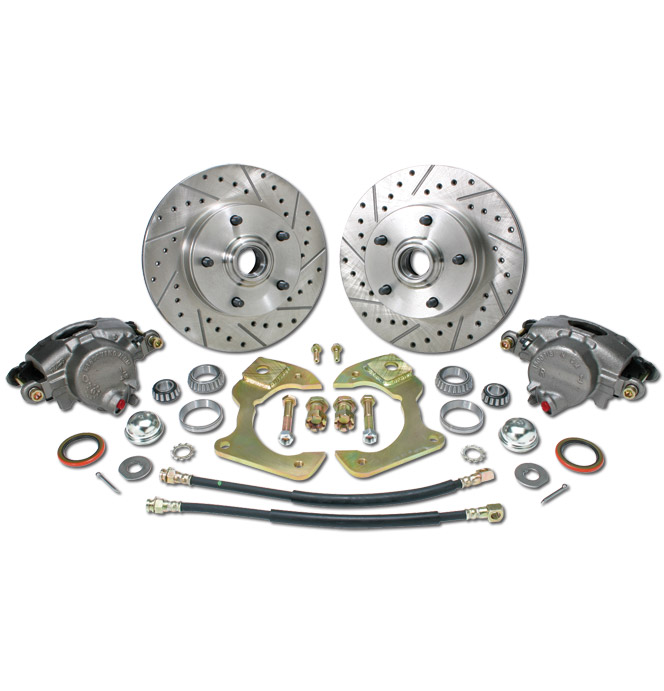 (1963-70) *Disc Brake Conversion Wheel Kit-5 Lug