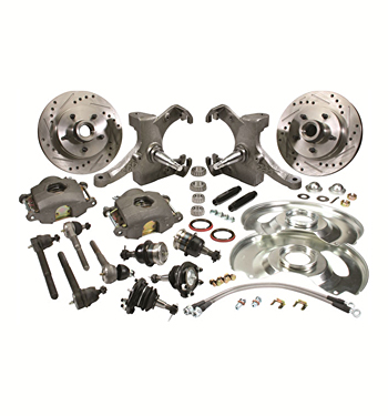 (1963-70) * Spindle Disc Brake Conversion Kit - Drop - 5 lug