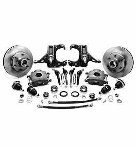 (1963-70) * Spindle Disc Brake Conversion Kit - Drop - 6 lug
