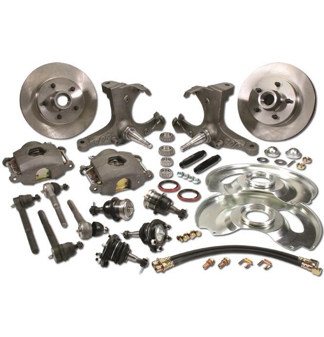 (1963-70) * Spindle Disc Brake Conversion Kit - Stock - 5 lug