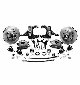 (1963-70) * Spindle Disc Brake Conversion Kit - Stock - 8 lug