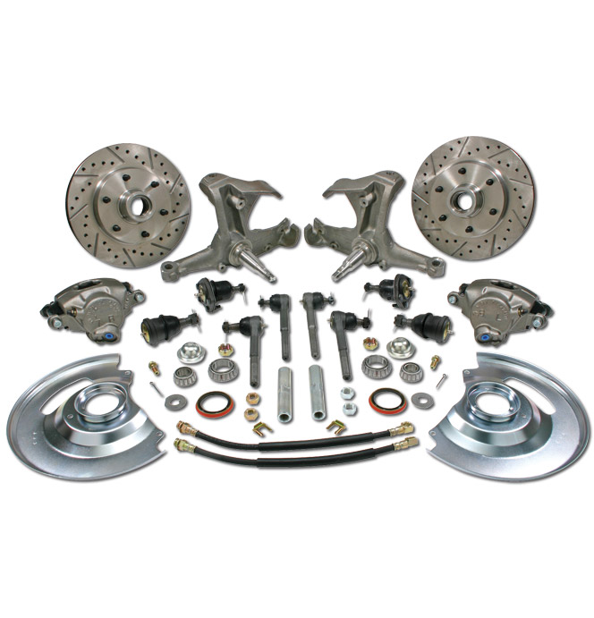 Disc Brake Conv Kit-Stock-6-Classic Chevy Truck Parts