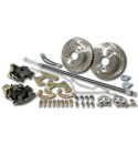 (1963-66) *Rear Disc Brake Kit - w/ Emergency Brake