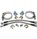 (1947-87) Rear Disc Brake Hose Kit - Stainless