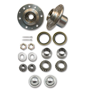 (1947-59) Roller Bearing Hub Upgrade Kit