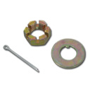 (1971-87)  Spindle Nut & Washer-3/4-1 Ton