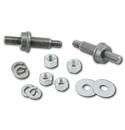 (1963-72) Rear Shock Relocator Stud Kit-pr.